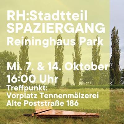 Stadtteil-SPAZIERGANG Reininghausgründe